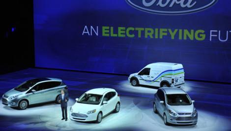 Ford электромобиль