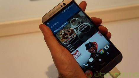 HTC One M9 пользовательский интерфейс