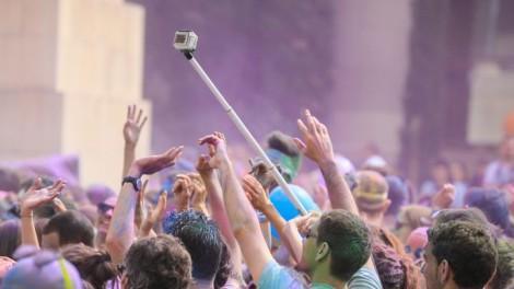 Селфи-стик на концерте