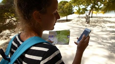 Смартфон турист