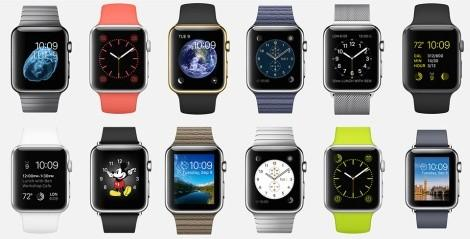 Разные Apple Watch виды