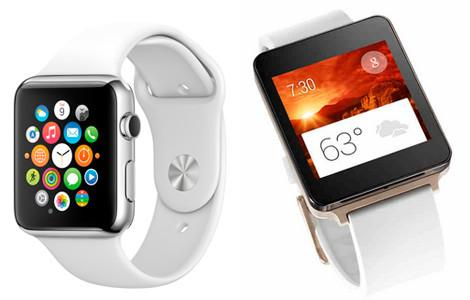 Apple Watch и LG G Watch