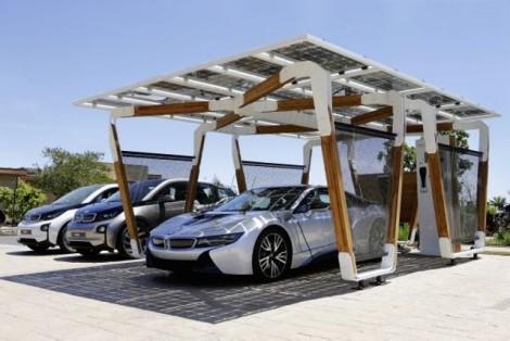 BMW i8 Carport