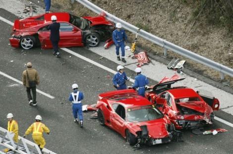Авария Феррари