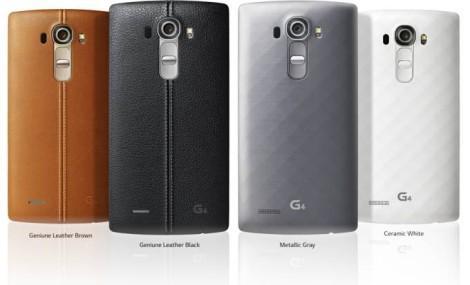 Дизайн LG G4