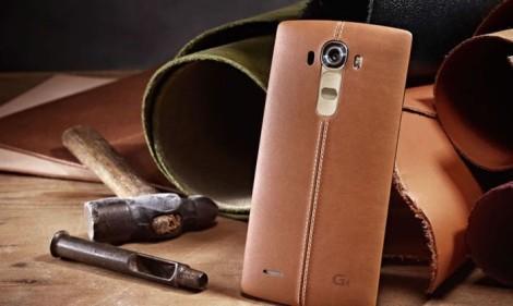 LG G4 с кожаным покрытием