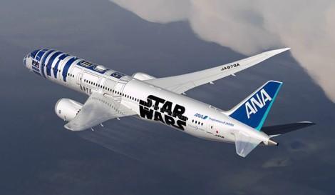 Самолет в стиле Звездных войн