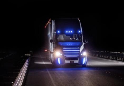 Автономный грузовик