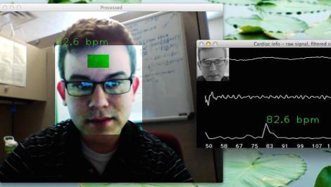 Webcam Pulse Detector
