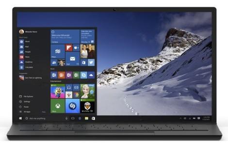 Windows 10 на ноутбуке