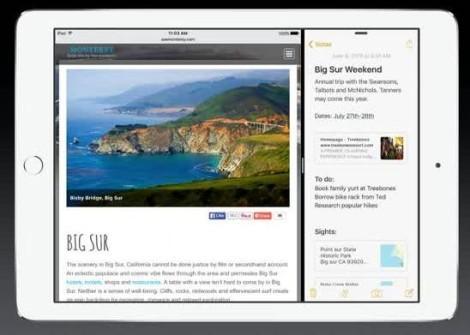 iOS 9 для iPad