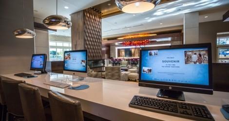 Компьютеры в отеле
