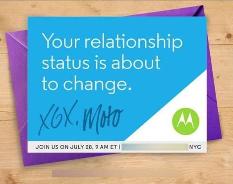 Motorola приглашение