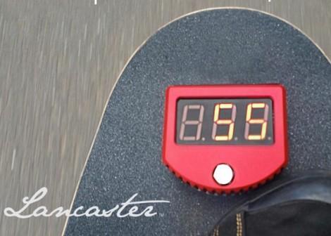 Skateboard-Speedometer
