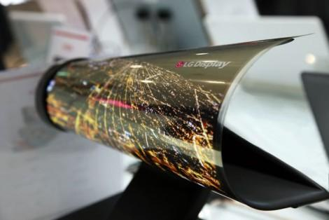 Гибкие OLED дисплеи