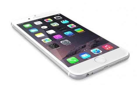 Apple Silver iPhone 6 Plus