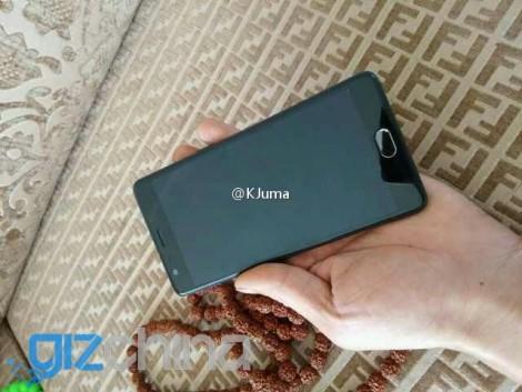 Изображение OnePlus 3 показывает железный корпус ивыпирающую заднюю камеру