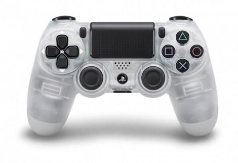 Steel-Gold-Silver-And-Transparent-PS4-Controllers-1