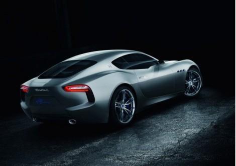 Maserati электромобиль