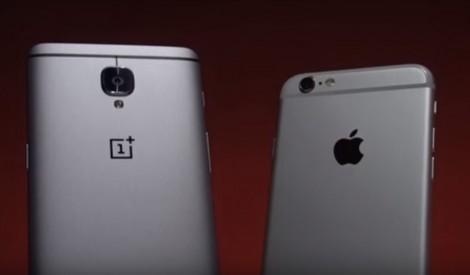 OnePlus 3 и iPhone 6s