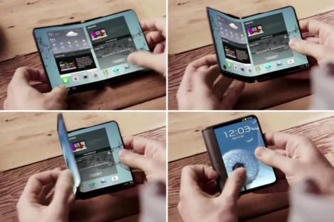 Samsung выпустит два смартфона с гибкими дисплеями в 2017 году