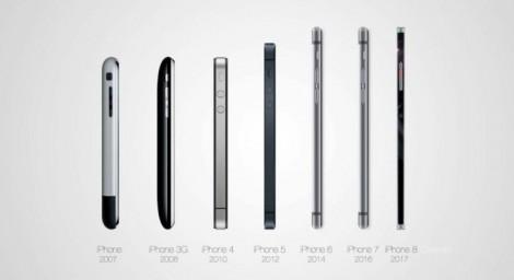 Концепт iPhone 8 4