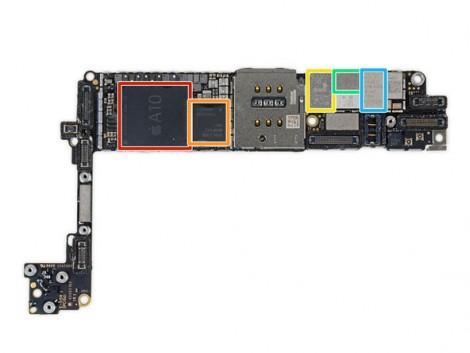iFixit iPhone 7 6