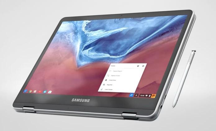 Самсунг готовит трансформер Chromebook Pro— Утечка