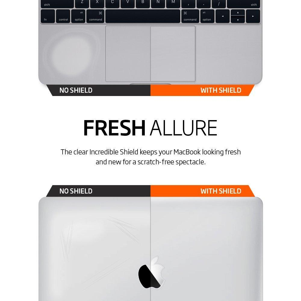 Spigen Incredible Shield для MacBook 12