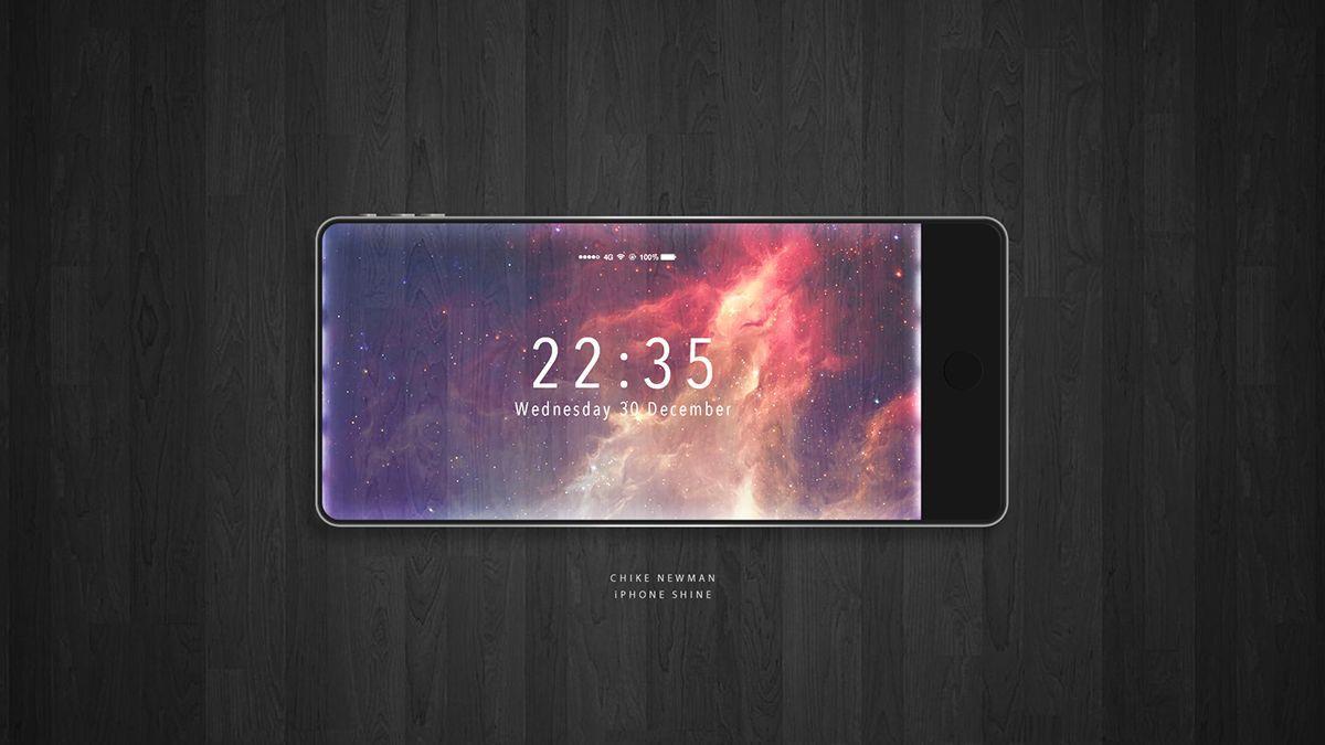 Шок: Apple выпустит iPhone 8 сизогнутым безрамочным дисплеем