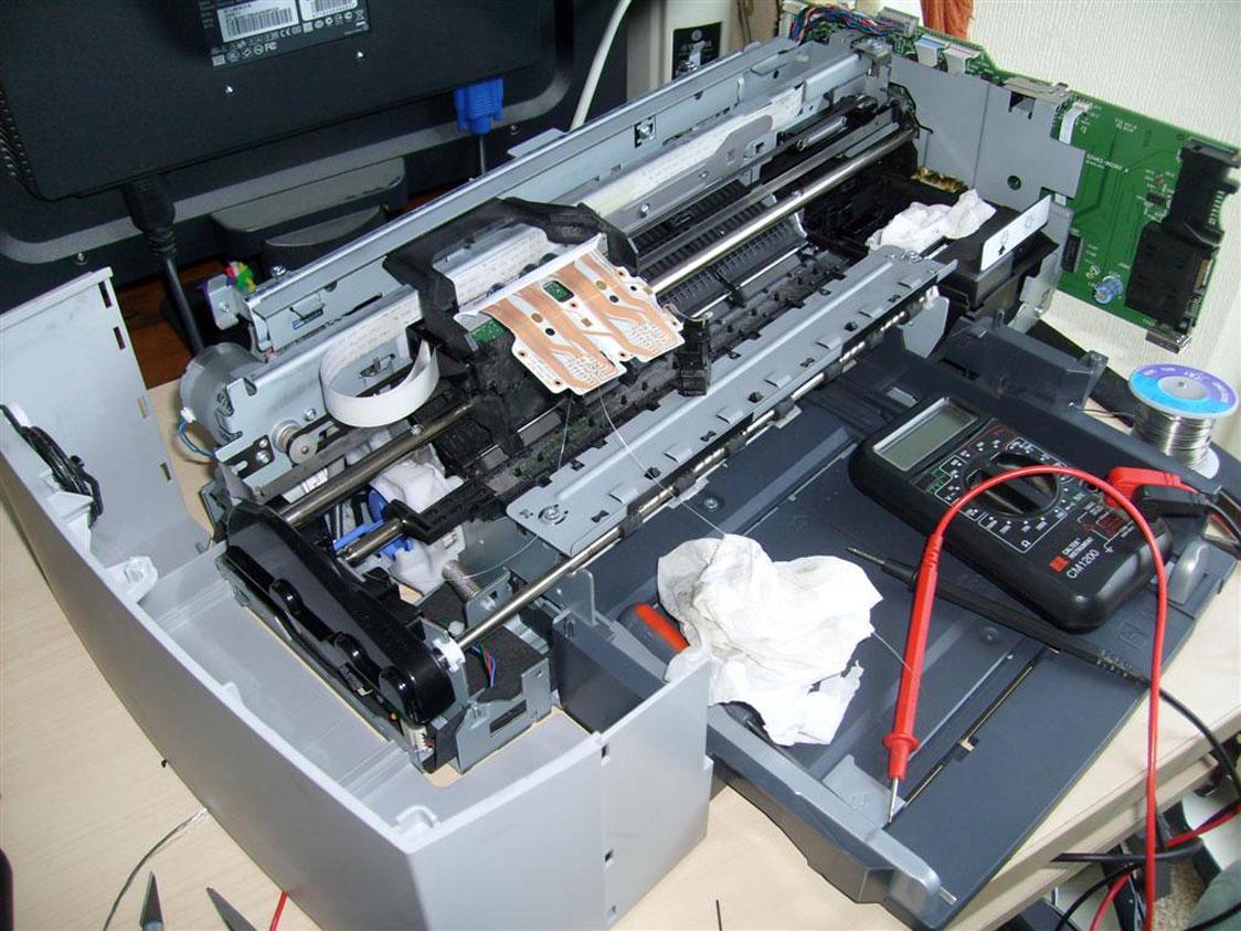 Принтер ремонт своими руками