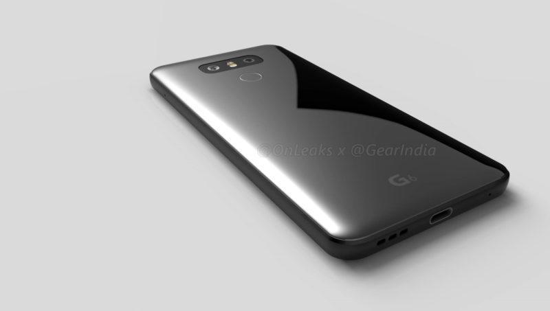 Размещен 1-ый эскиз телефона LGG6