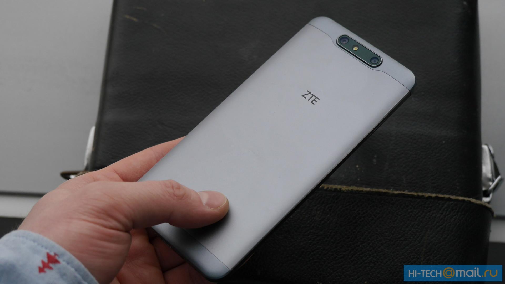 ZTE Blade V8 получит двойную камеру иОС андроид 7.0