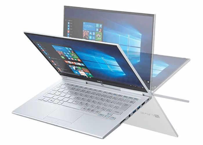 Ноутбук-перевертыш NEC LaVie Hybrid Zero весит 769 граммов