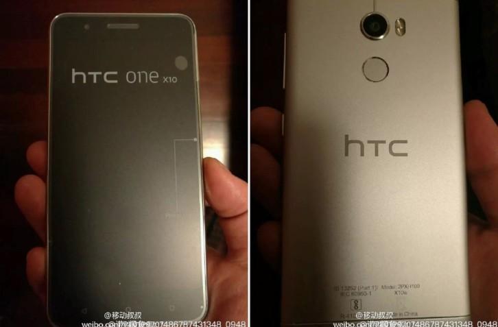 Смартфон HTC One X10 впервый раз показали на настоящих фотографиях
