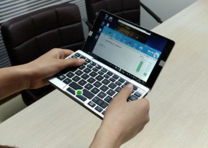 Показан 1-ый прототип карманного ноутбука GPD