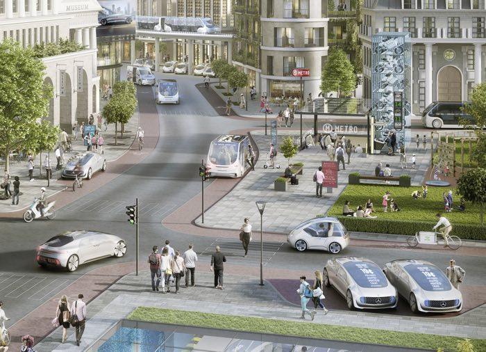 Mercedes иBosch запланировали сделать роботизированное такси