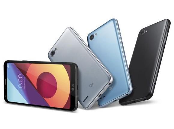 Представлен мобильные телефоны LGQ6, Q6+ иQ6а