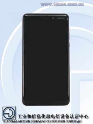 Телефоны    Nokia 6 c экраном 18:9 засветился на TENAA   Nokia-6-2018-1-315x420