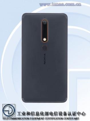 Телефоны    Nokia 6 c экраном 18:9 засветился на TENAA   Nokia-6-2018-2-315x420