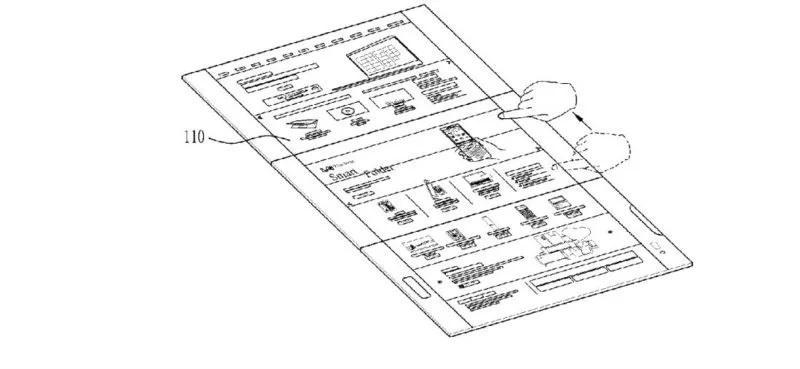 Телефоны  | LG запатентовала смартфон-книжку с тремя экранами | LG-5