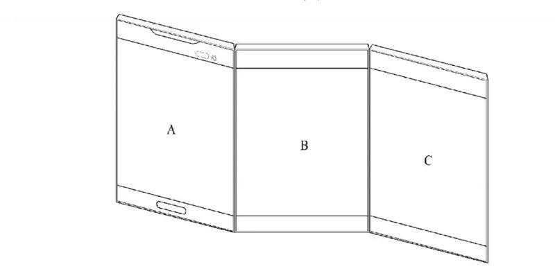 Телефоны  | LG запатентовала смартфон-книжку с тремя экранами | LG-6