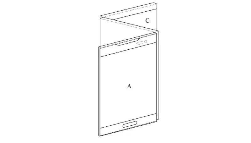 Телефоны  | LG запатентовала смартфон-книжку с тремя экранами | LG-7