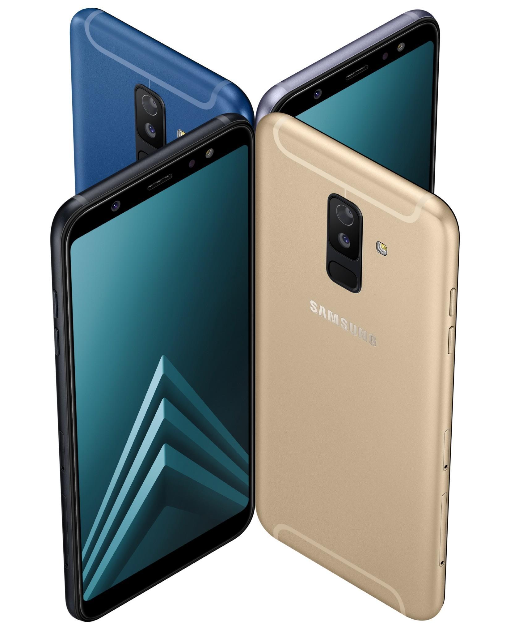 Samsung представила Galaxy A6 и Galaxy A6+ с Infinity дисплеем и мощной фронталкой