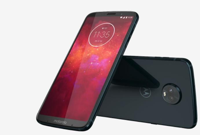 Представлен тонкий модульный смартфон Moto Z3 Play