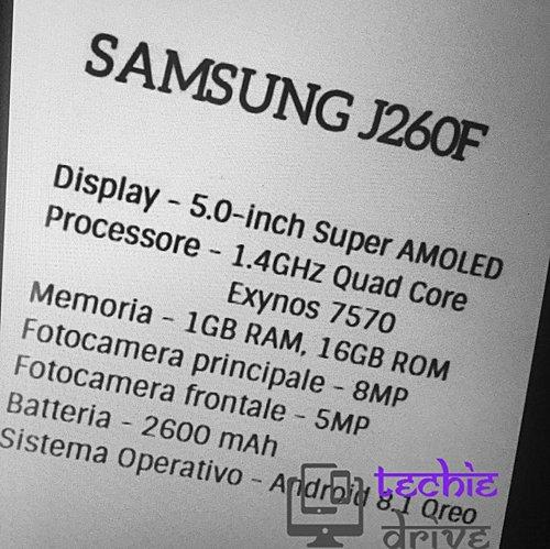 Засветился компактный простенький смартфон Samsung Android Go