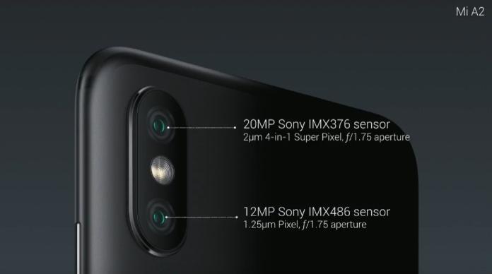 Xiaomi MiA2 иMiA2 Lite: официальные характеристики ицены