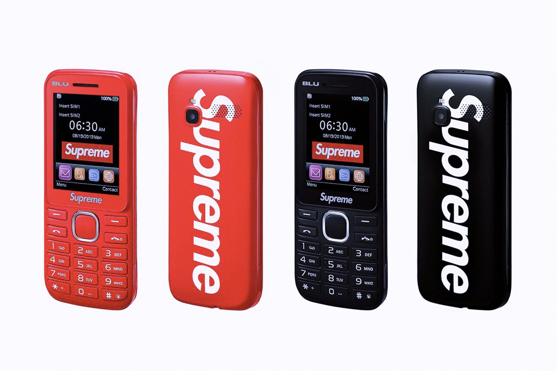 Supreme представил фирменный кнопочный телефон Burner Phone