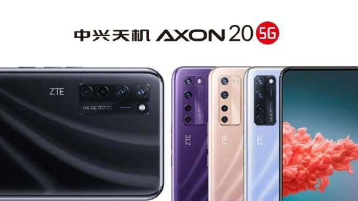 ZTE Axon 20 5G получит фронтальную камеру под экраном